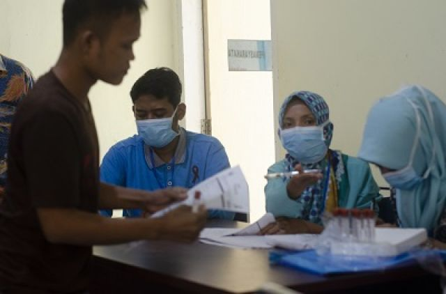 Deteksi Dini SERO SURVEY HIV, AIDS dan Sifilis Di LAPAS Klas IIB Pasirpengaraian - Rokan Hulu, Rabu, 02/10/2019